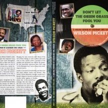 Cover Design for Wilson Pickett's sister Louella Pickett-New