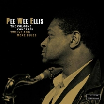 "LP & CD Cover for Pee Wee Ellis Live at the ""Schmuckkästchen"" Cologne"