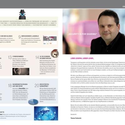 Deutsche Telekom: Broschüre für Datensicherheit